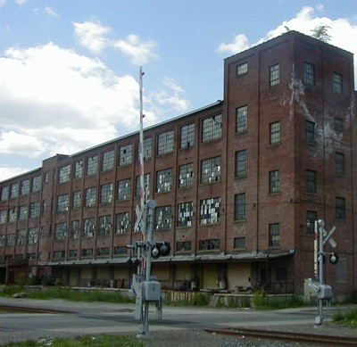 I live in a place that was once booming, and is now full of abandoned factories. They are what come to mind when I think of broken windows of opportunity.